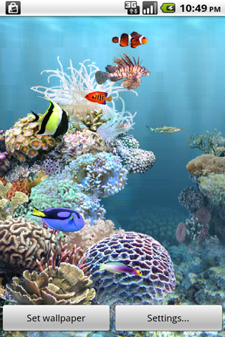 aniPetAquarium screenshot