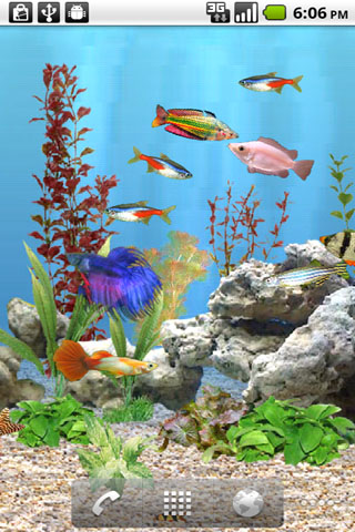 aniPet Freshwater Aquarium screen
