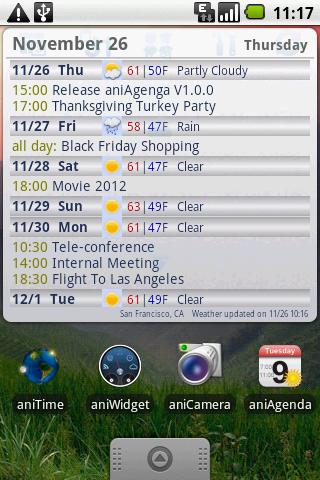 aniAgenda screenshot
