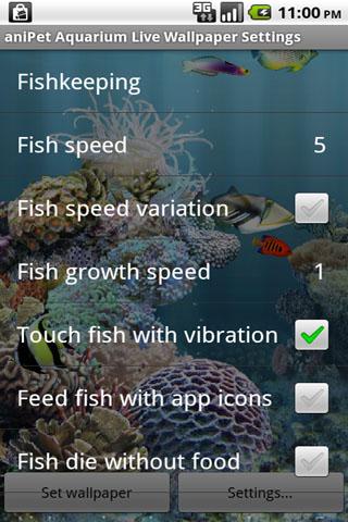 aniPetAquarium screenshot